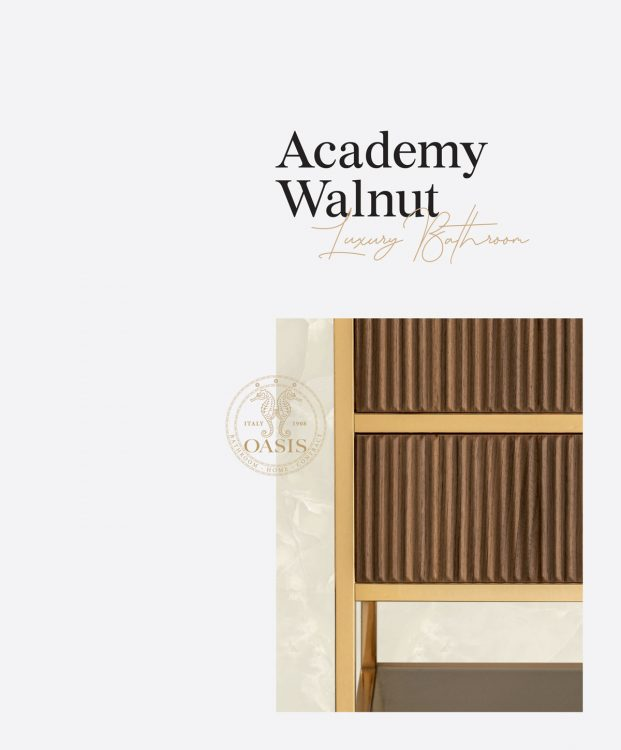 Academy Walnut – Luxury Bathroom